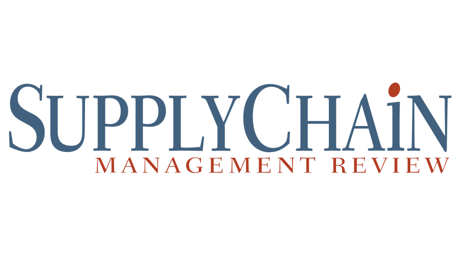 Supply Chain Management Review Vector Logo